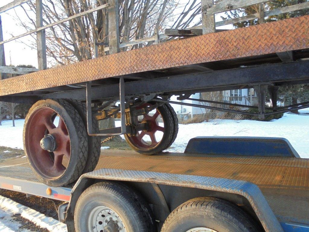 1918 Fruehauf Trailer Antique Truck