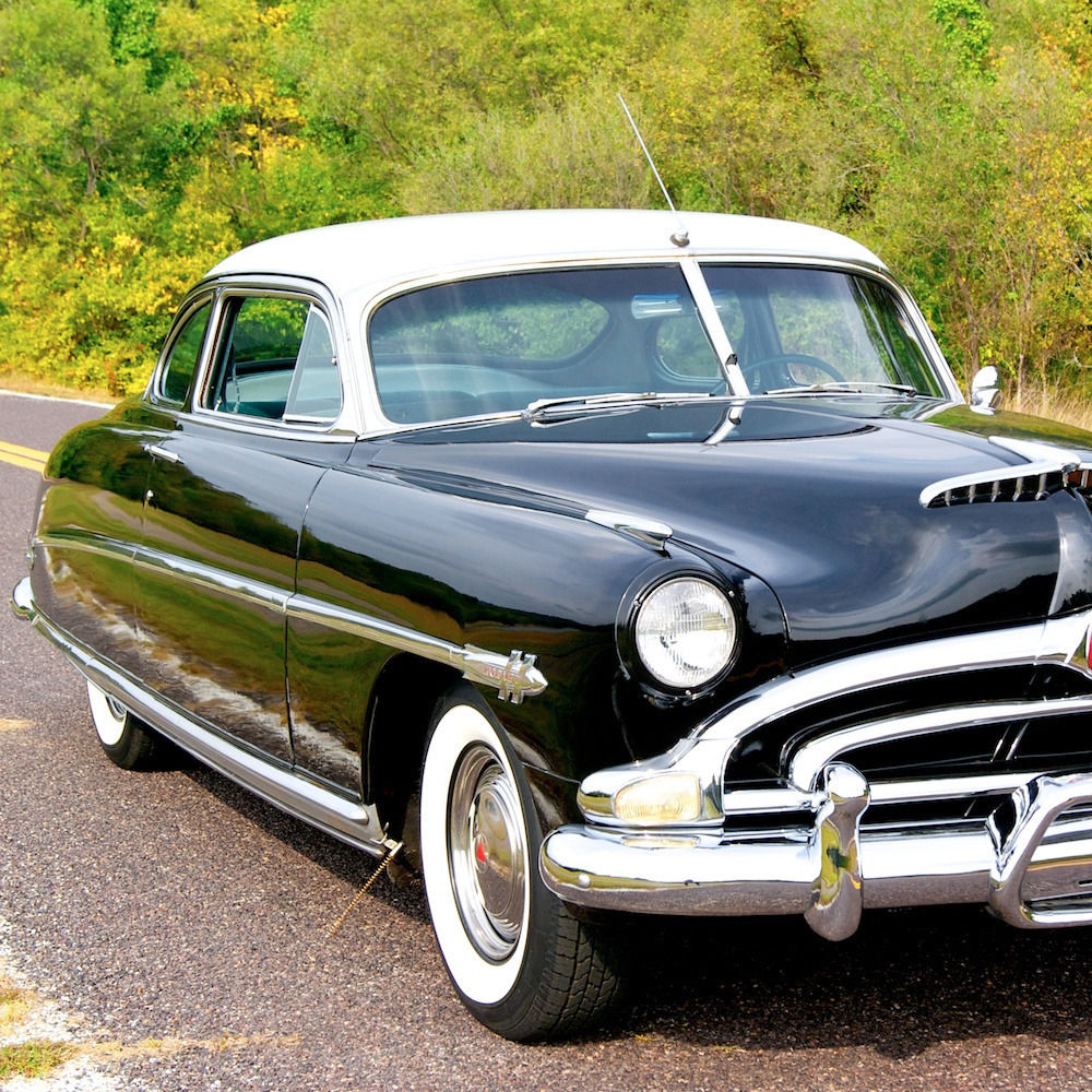 1953 Hudson Hornet Club Coupe Twin H Power Engine For Sale