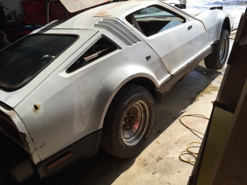 1974 Bricklin SV1 Delorean Corvette ZR1