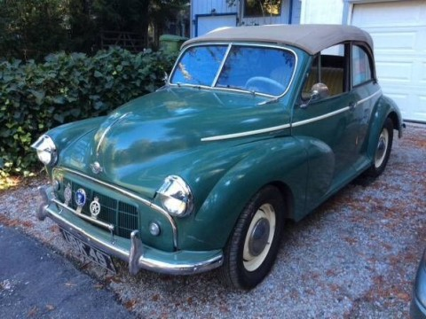 1953 Morris Minor Convertible Series II Tourer for sale