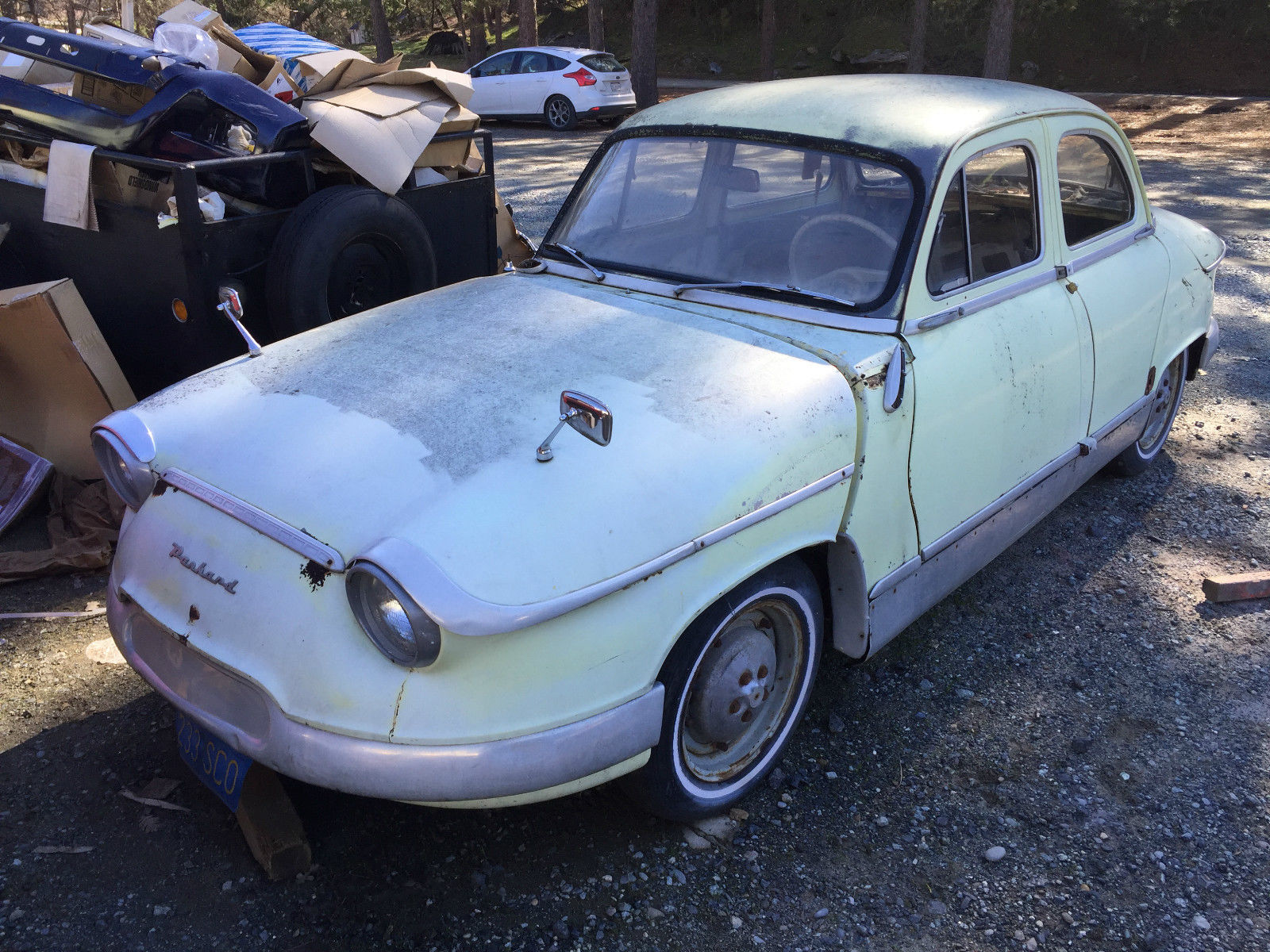 1961 Panhard Pl 17 Base 0 8l For Sale