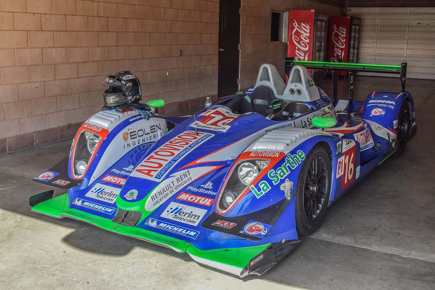 2007 Pescarolo 01 LMP1 Race Car For Sale