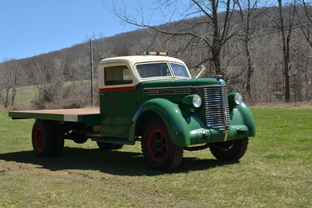 Vw Diesel Truck >> 1938 Diamond T 306 Farm Truck for sale