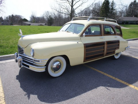 1948 Packard 8 Woody Wagon for sale