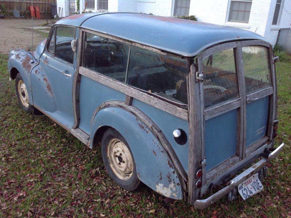 1959 Morris Minor 1000 Traveller Woody wagon