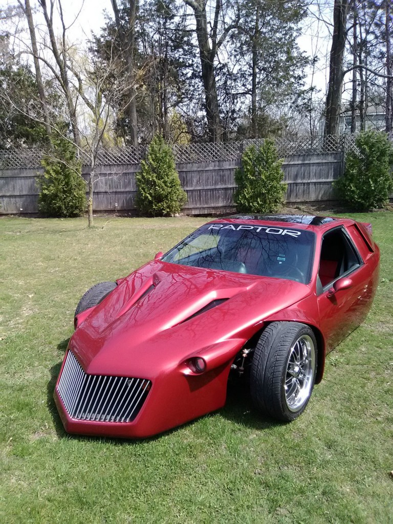 2009 kit car three wheeled raptor by chambers customs for sale. Black Bedroom Furniture Sets. Home Design Ideas
