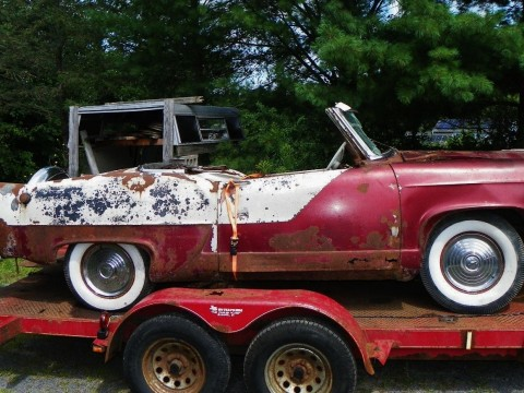 1951 Henry J convertible barn find project for sale