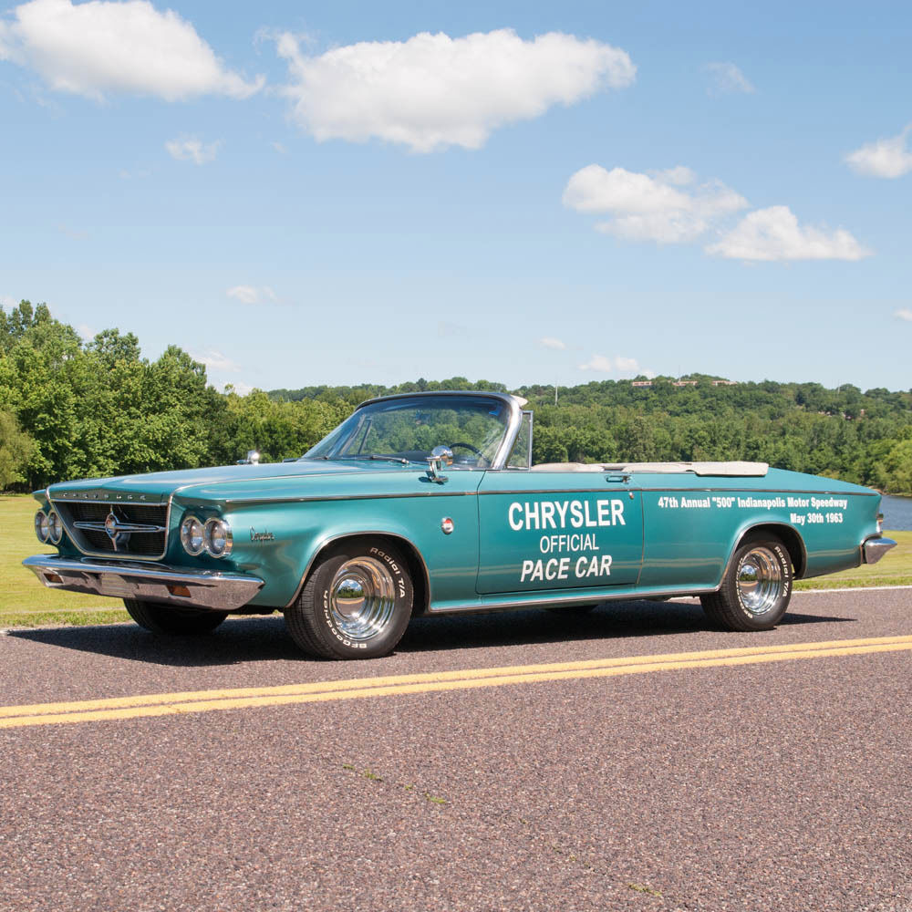 1963 Chrysler 300 Pacesetter Convertible, Rare Indy 500