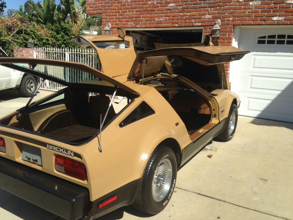 1975 Bricklin SV 1 Gull Wing Doors