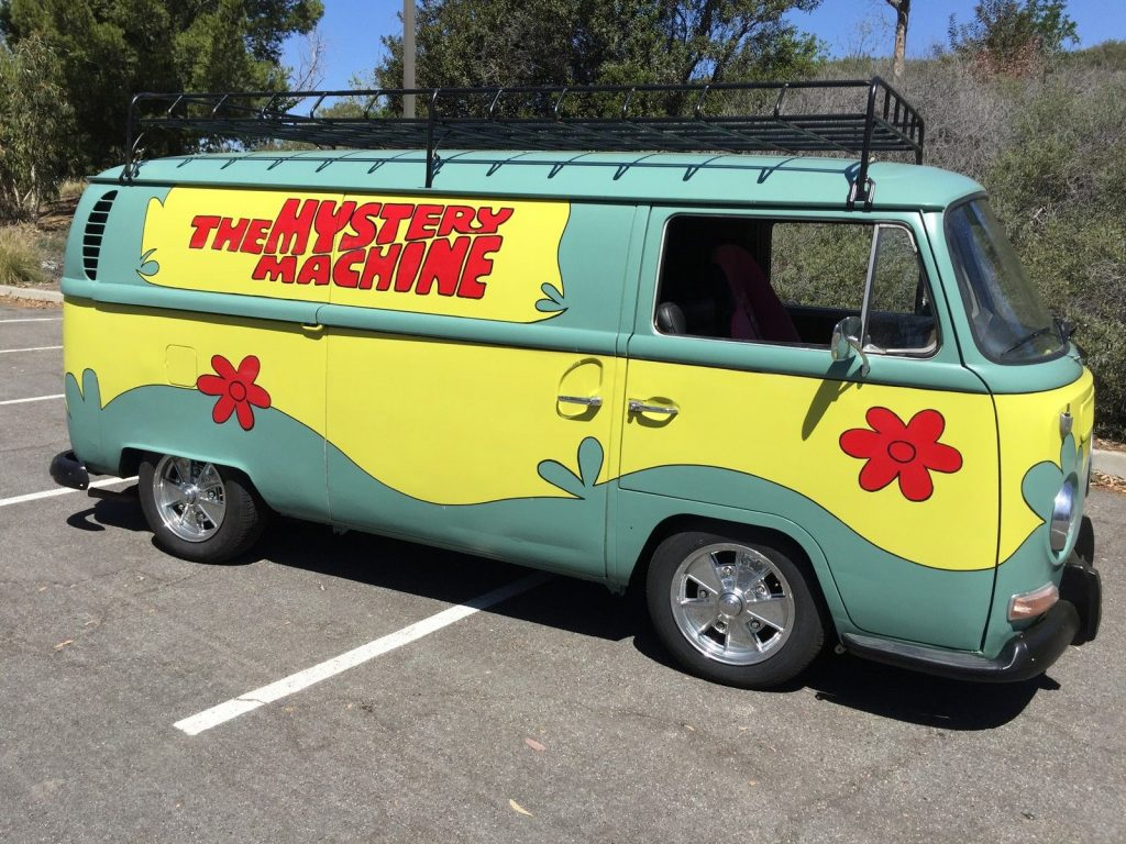 1970 Vw Mystery Machine Custom Tiki Van For Sale
