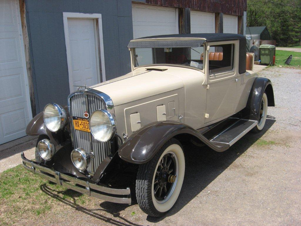 1931 Franklin Rumble Seat Coupe Model 151 For Sale