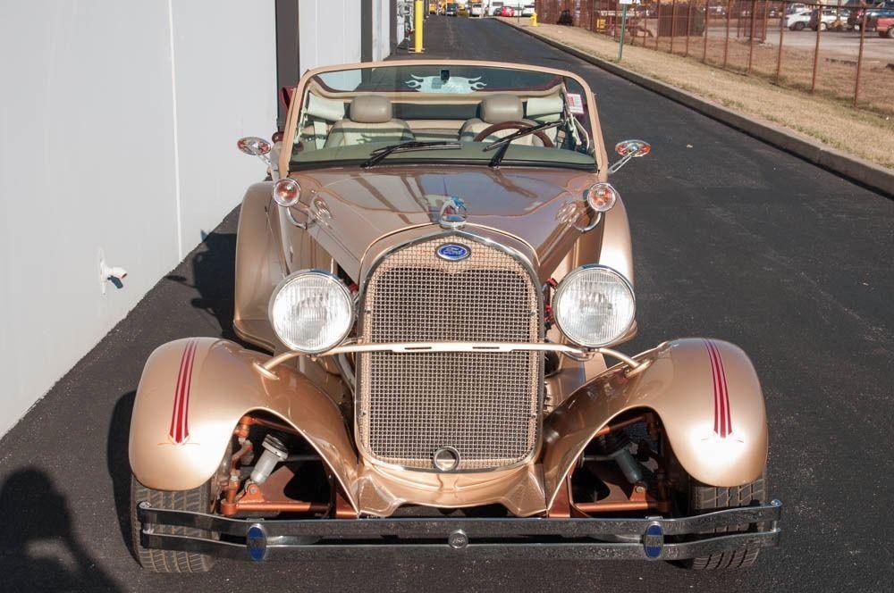 Sick 1929 Ford Model A Roadster Custom