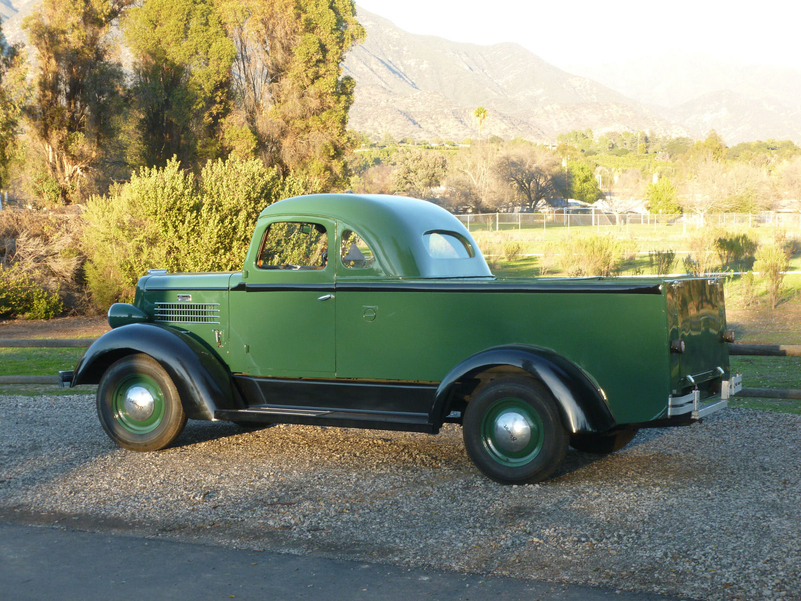 1937 Stewart Coupe Utility For Sale