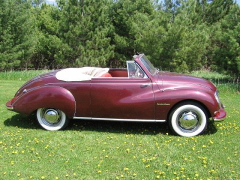 1956 DKW 2 seat convertible – coach built by the factory for sale