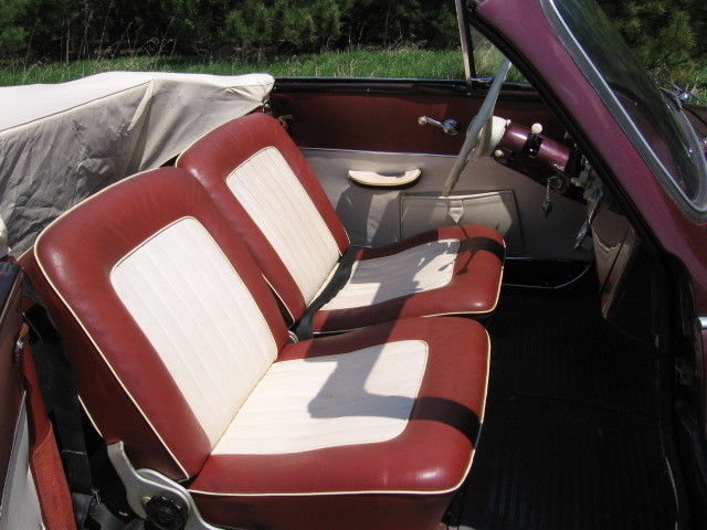 1956 DKW 2 seat convertible – coach built by the factory