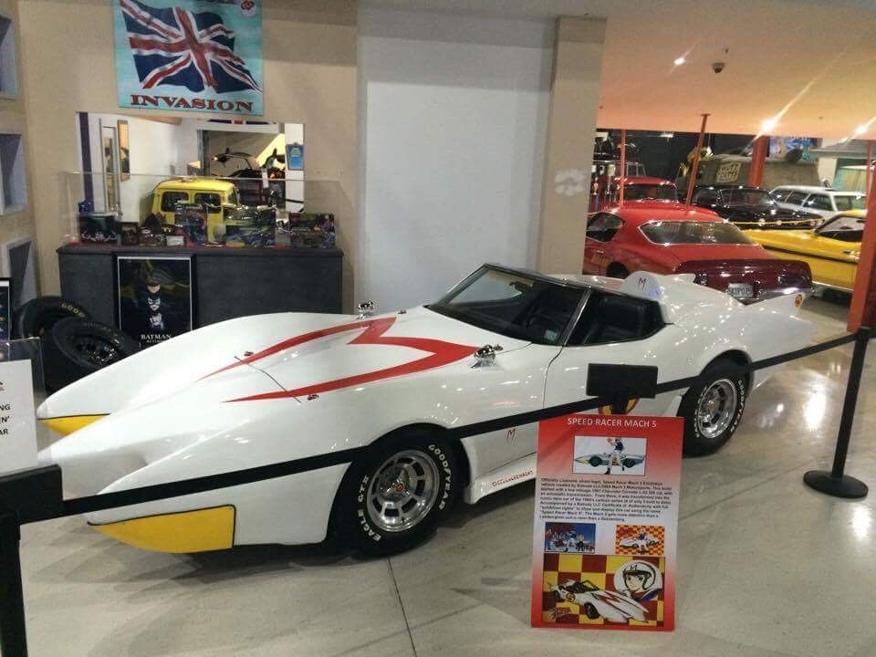 1981 Mach 5 Speed Racer Exhibition Replica Officially Licensed Build 1 of 5