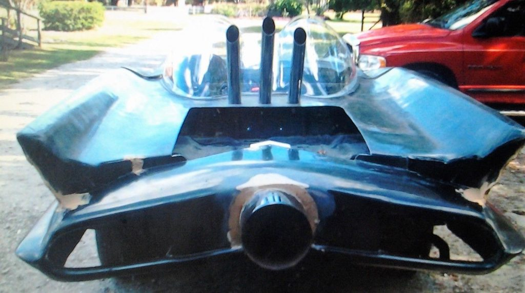 Bob Butts Style 1966 Batmobile Replica (Partially finished)