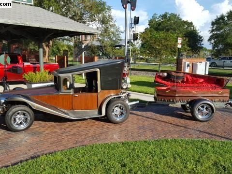 Crazy 1984 California Munster Car and Coffin Trailer Hot Rod for sale