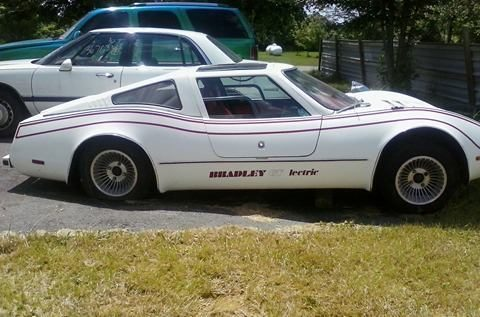 Limited Edition 1979 Bradley GT Electric Car (Seagull wing doors) for sale