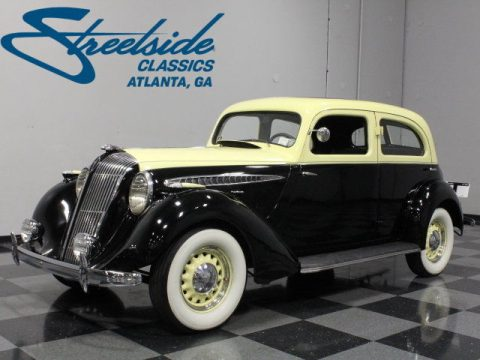 VERY RARE 1936 HUPMOBILE 618 G TOURING SEDAN for sale