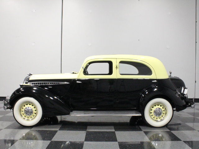 VERY RARE 1936 HUPMOBILE 618 G TOURING SEDAN