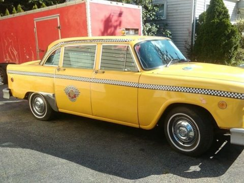 1974 Checker Marathon Taxi Cab – good condition for sale