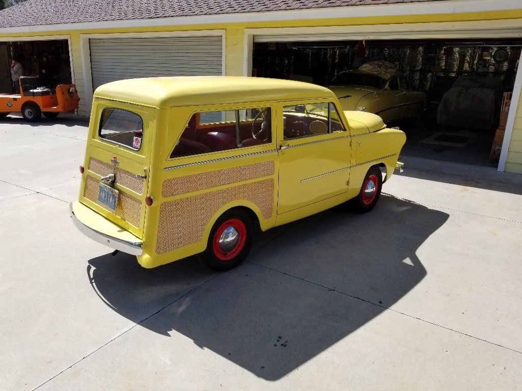 1951 crosley super station wagon