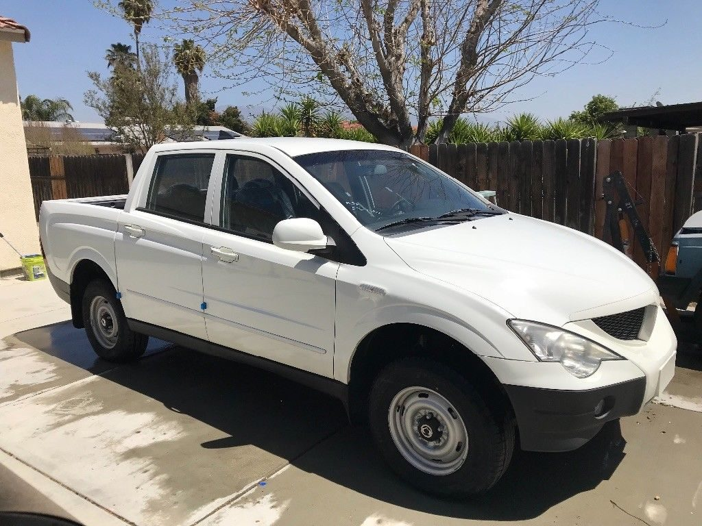 2008 Sang Young Acton sport – diesel mini truck
