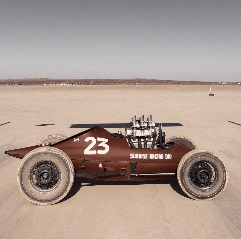 1932 Belly Tank Racer SCTA Landspeed TROG Hot Rod