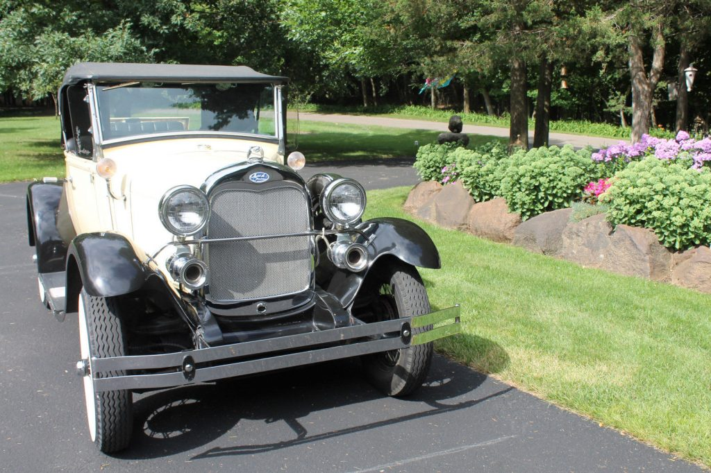 1980 Shay Model A roadster reproduction