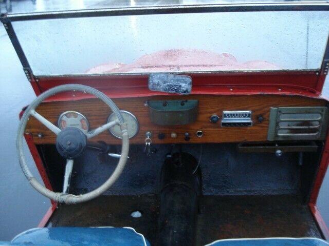1951 Crosley Supersport Hotspot NO RESERVE