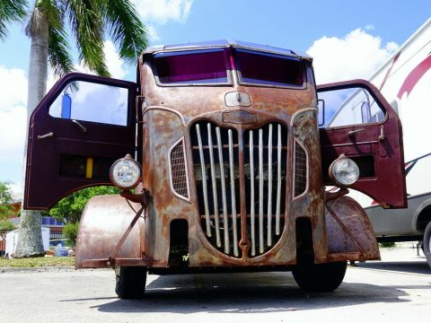1952 COE Hauler With '52 Autocar Cab For Sale for sale