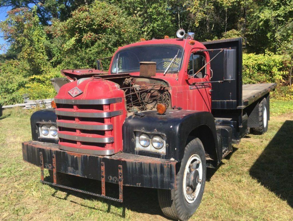 1962 Diamond T Platform Dump Truck Barn Find Driver 5000 Model
