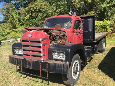 1962 Diamond T Platform Dump Truck Barn Find Driver 5000 Model for sale